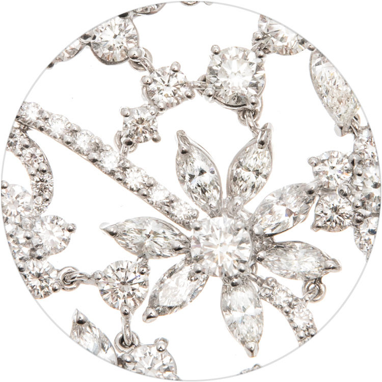 Gismondi1754 dettaglio prato fiorito circolare