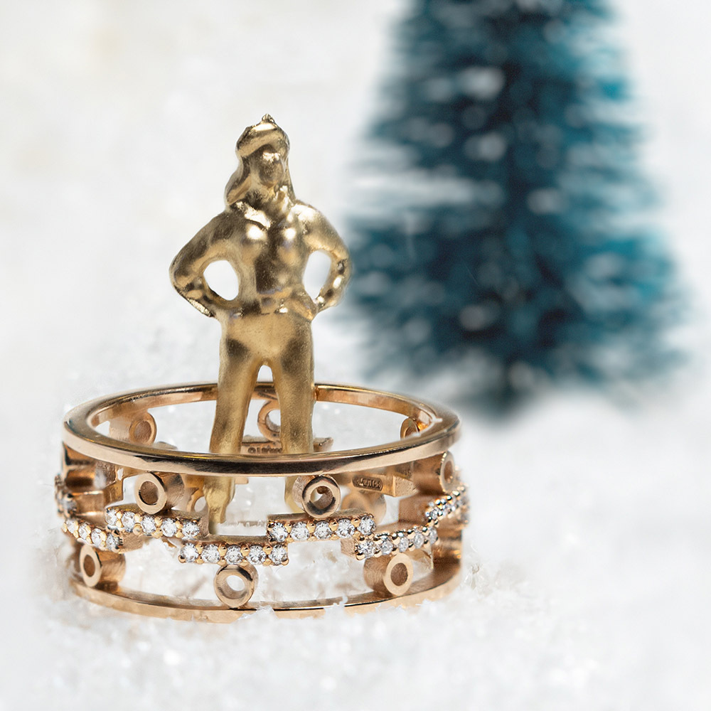 We are golden - Dedalo 2020 ring