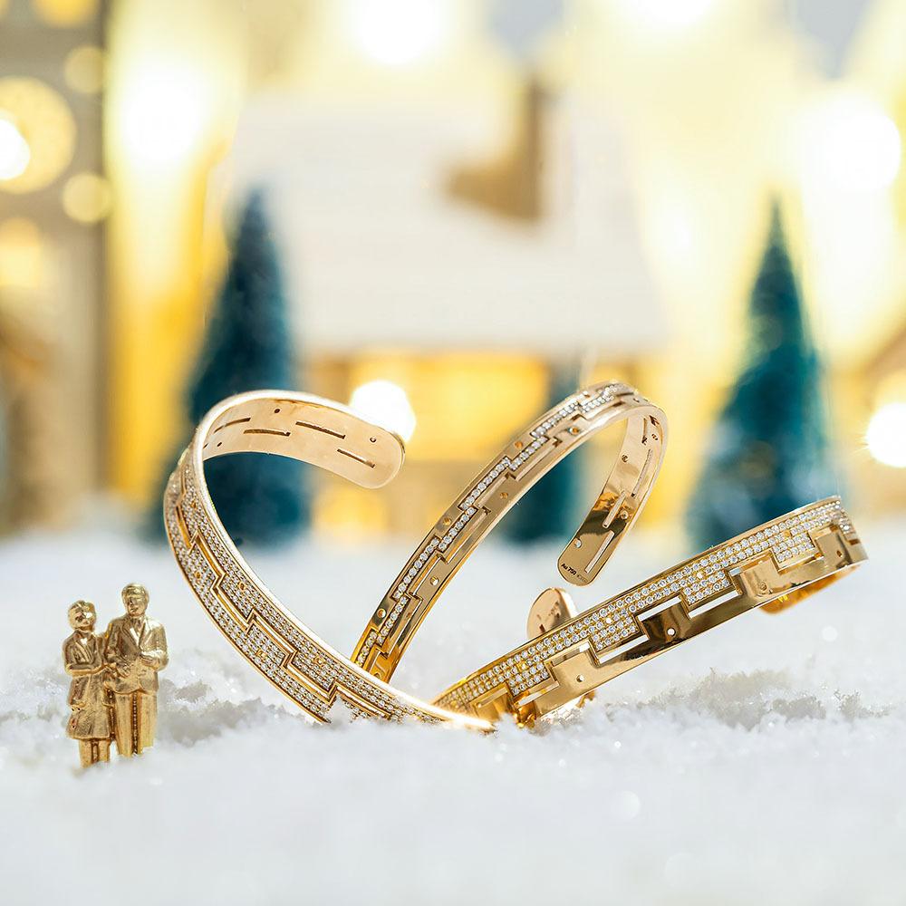 We are golden - Dedalo bracelets