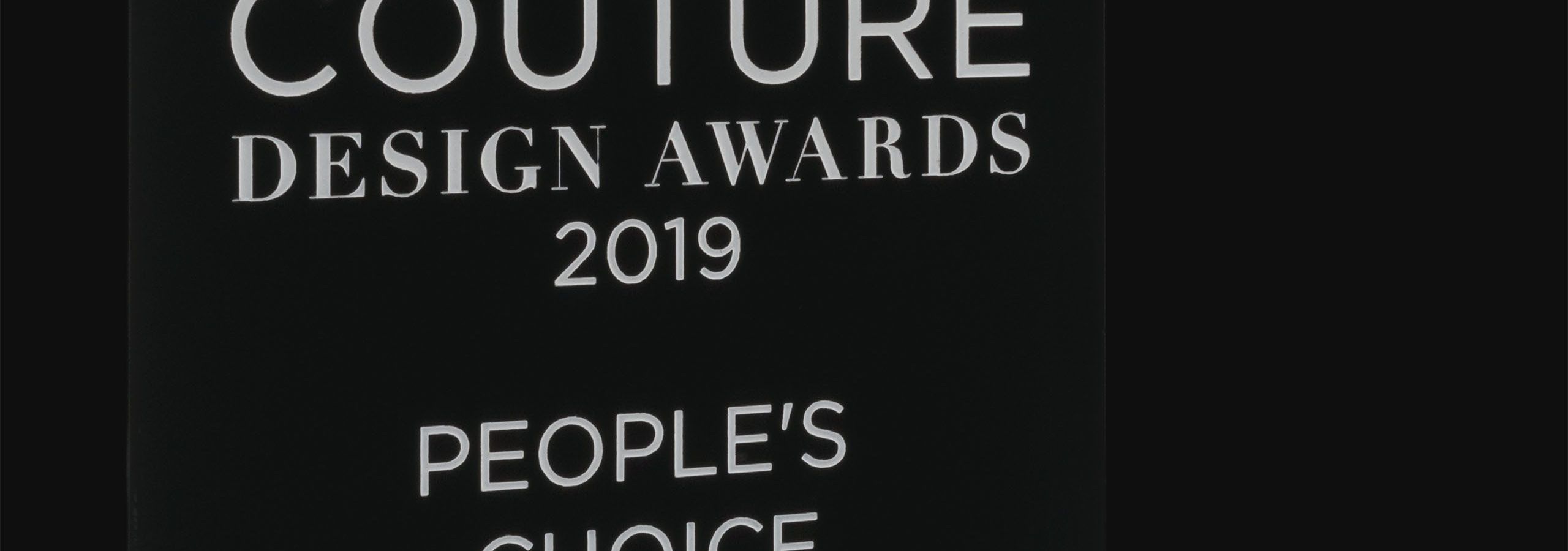 2019 - Couture Award Las Vegas